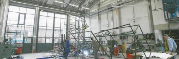 Les nouvelles installations de construction métallique