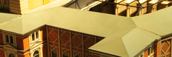 Festspielhaus • maquette en prévision des grands travaux