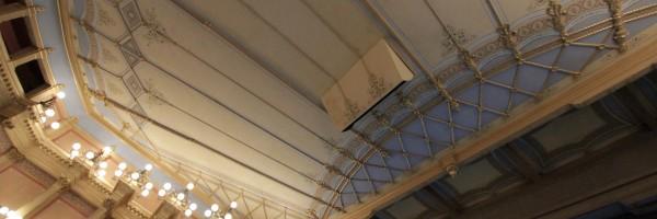 Festspielhaus • plafond de la salle